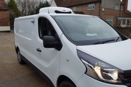 VAUXHALL-FREEZER-CHILLER-FOR FISH DELIVERY