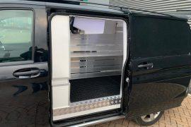Freezer conversion – Aluminium shelfs