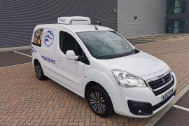 Chiller conversion – Peugeot partner